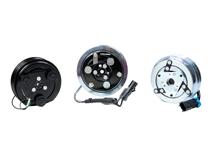 Automotive air conditioning compressor clutches