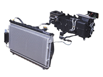 Automotive air conditioning complete ac systems