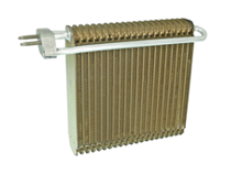 Automotive air conditioning evaporator cores